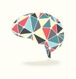 Вектор мозговой деятельности абстрактный Стоковое Изображение