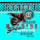 Вектор мотоцикла Стоковые Фото