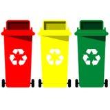 Вектор мусорной корзины бесплатная иллюстрация