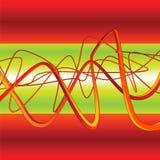 вектор надписи на стенах предпосылки 3d Стоковое Изображение RF
