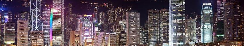 вектор небоскребов панорамы искусства Стоковое Изображение RF