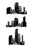вектор небоскребов Стоковая Фотография