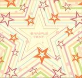 вектор образца звёздный Стоковая Фотография RF