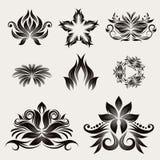 Вектор орнамента иконы декоративный Стоковая Фотография RF