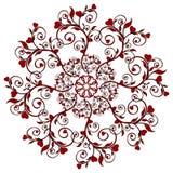 вектор орнамента иллюстрации цветка бесплатная иллюстрация