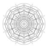 вектор орнамента иллюстрации eps 8 кругов Стоковое Изображение RF