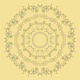 вектор орнамента иллюстрации eps 8 кругов Стоковая Фотография RF