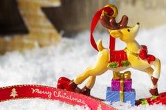 вектор открытки иллюстрации рождества eps10 Стоковое Изображение