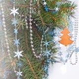 вектор открытки иллюстрации рождества eps10 Стоковая Фотография RF