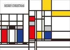 вектор открытки иллюстрации рождества eps10 Стоковые Изображения