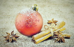 вектор открытки иллюстрации рождества eps10 Стоковая Фотография