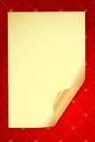 вектор очарования предпосылки старый бумажный Стоковая Фотография