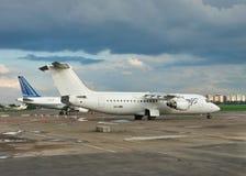вектор пассажирских самолетов иллюстрации конструкции вы Стоковое Изображение RF