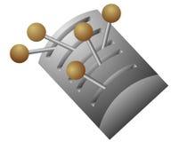 вектор переключателя рукоятки Стоковая Фотография RF