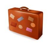 вектор перемещения чемодана Стоковые Изображения