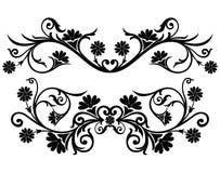 вектор переченя декора cartouche иллюстрация вектора