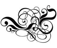 вектор переченя декора cartouche иллюстрация штока