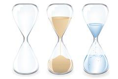 вектор песка часов иллюстрация вектора