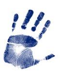 вектор печати руки Стоковая Фотография
