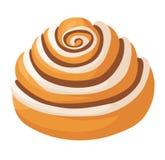 Вектор печенья изолированный тортом иллюстрация штока