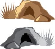 Вектор пещеры человека Стоковая Фотография RF