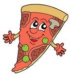 вектор пиццы иллюстрации Стоковые Фото
