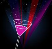вектор плаката питья Стоковая Фотография RF