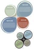 вектор плаката принципиальной схемы брошюры Стоковая Фотография RF
