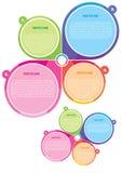 вектор плаката принципиальной схемы цвета брошюры Стоковая Фотография RF