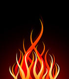 вектор пожара Стоковая Фотография