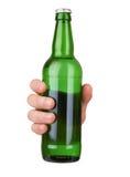 вектор померанца иллюстрации бутылки пива предпосылки Стоковое Фото