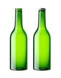 вектор померанца иллюстрации бутылки пива предпосылки Стоковые Изображения