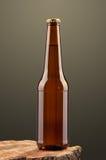 вектор померанца иллюстрации бутылки пива предпосылки Стоковые Фотографии RF