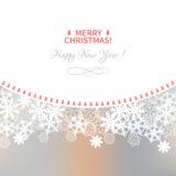 вектор померанца меню иллюстрации праздника вилки рождества анисовки Стоковые Фото