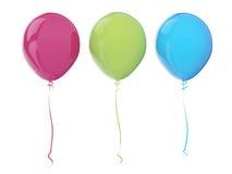 вектор праздника дней цвета воздушных шаров Стоковые Изображения RF
