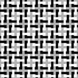 вектор предпосылки безшовный Современная стильная текстура блокируя квадратов Повторение геометрической решетки Простое графическ бесплатная иллюстрация