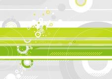 вектор предпосылки зеленый Стоковые Фото
