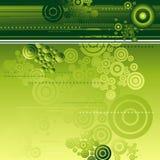 вектор предпосылки зеленый Стоковое Фото