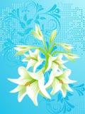 вектор предпосылки флористический Стоковые Фотографии RF