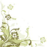 вектор предпосылки флористический Стоковая Фотография