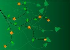 вектор предпосылки флористический Стоковая Фотография RF