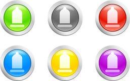 вектор презерватива Стоковая Фотография RF