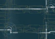 Вектор - предпосылка техническая   Стоковая Фотография RF