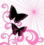 вектор предпосылки розовый Стоковая Фотография