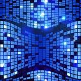 Вектор предпосылки абстрактного голубого высок-техника безшовный геометрический Стоковое Изображение RF