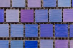 вектор предпосылки абстрактного искусства голубой квадратный Стоковое Фото