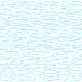 вектор предпосылки волнистый Светлой горизонтальной текстура striped волной Стоковая Фотография