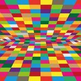 вектор предпосылки цветастый Стоковое Изображение RF
