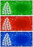 вектор приветствию рождества карточки предпосылки бесплатная иллюстрация