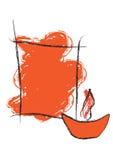 вектор приветствию diwali Стоковая Фотография RF
